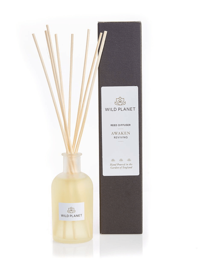 Wild Planet Diffusers Awaken Luxury Aroma Reed Diffuser - Ginger, Eucalyptus & Grapefruit