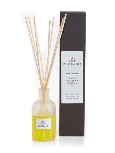 Wild Planet Diffusers Lemon Verbena Luxury Aroma Reed Diffuser - Lemon, Verbena & Lemongrass