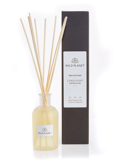 Wild Planet Diffusers Limelight Luxury Aroma Reed Diffuser - Lime, Bergamot & Lemongrass