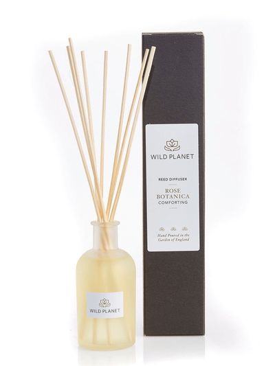 Wild Planet Diffusers Rose Botanica Luxury Aroma Reed Diffuser - Rose & Bergamot