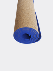 Yatay Yoga Mats Blue Cork Yoga Mat