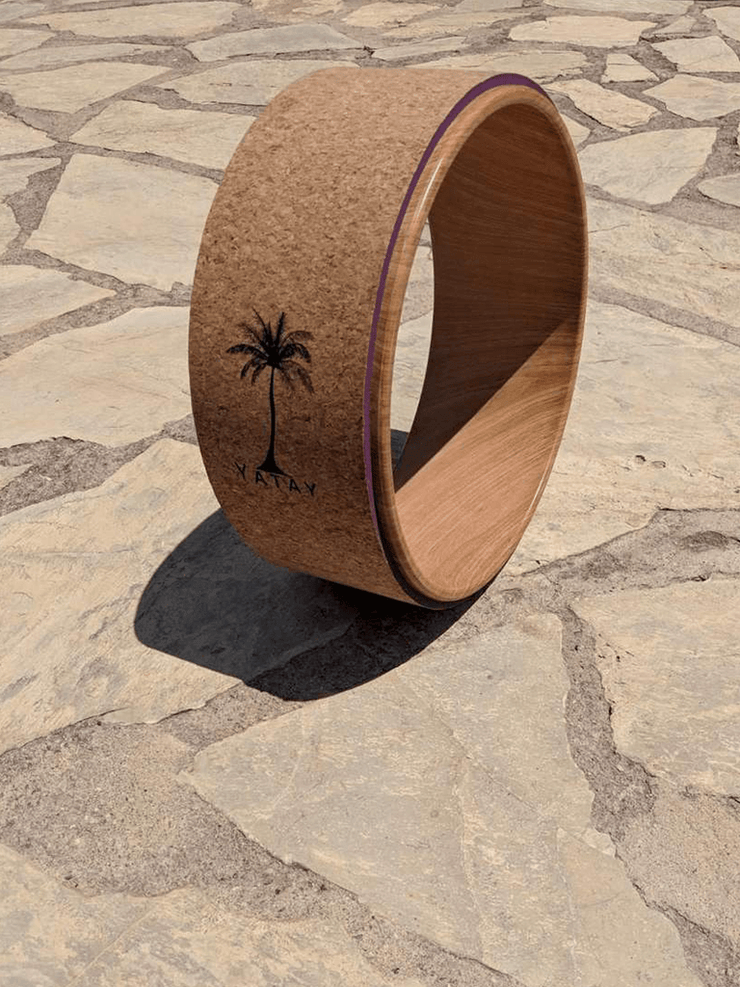 Yatay Yoga Wheel Natural Cork Yoga Wheel