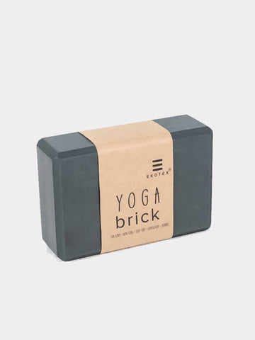 Foam Yoga Brick - Blackened Pearl - Ekotex Yoga - £7.50