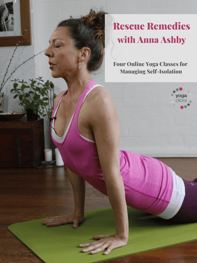 Rescue Remedies with Anna Ashby: Four Online Yoga Classes for Self-Isolation - YogaFlicks - £0.00
