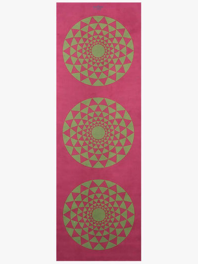 Yogoja Yoga Mats Red Yoga Mat Carpet - Red Green Journey