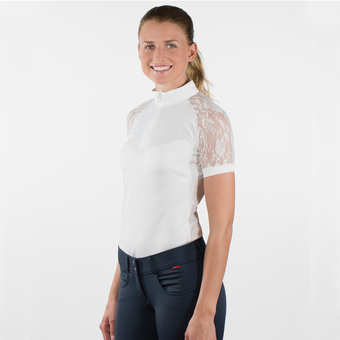 B Vertigo Amy Women's Lace Show Shirt