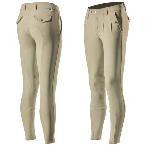 Horze Grand Prix Men's Silicone Knee Patch Breeches