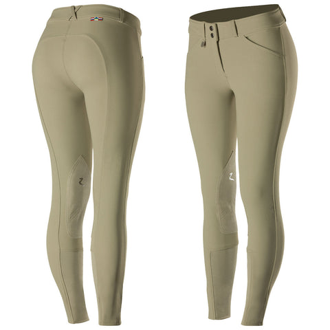 Horze Grand Prix Leather Knee Patch Breeches