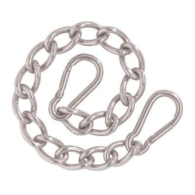 Weaver Leather Curb Chain with Safety Spring Snaps
