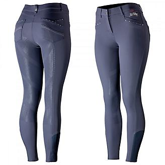 B Vertigo Olivia Womens Silicone Knee Patch Breech