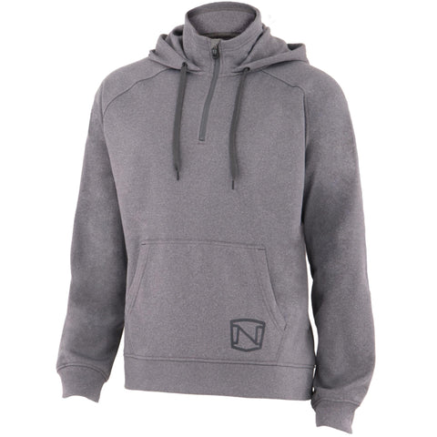 Noble Outfitters Mens Warmwear Quarter Zip Hoodie