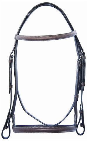 Pro-Trainer Pony Plain Raised Bridle