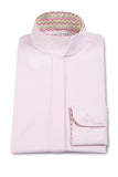 RJ Classic Prestige Collection Children's Pink Chevron Show Shirt