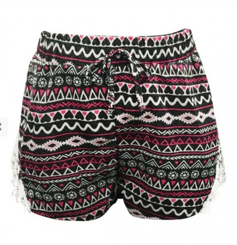 Girls Tribal Shorts
