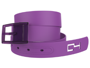 C4 Plum Belt/Plum Buckle