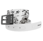 Thelwell Sketch Belt/Black Chrome Buckle