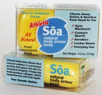Soa Natural Body Armor Athletic Soap