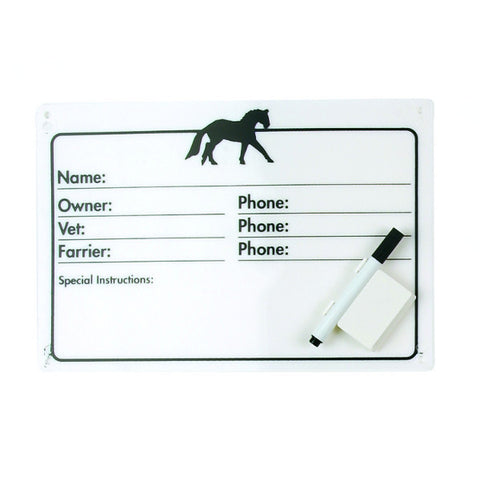 Equi-Essentials Horse Stall Plaque