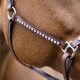 Horze Leather Crystal Bling Halter