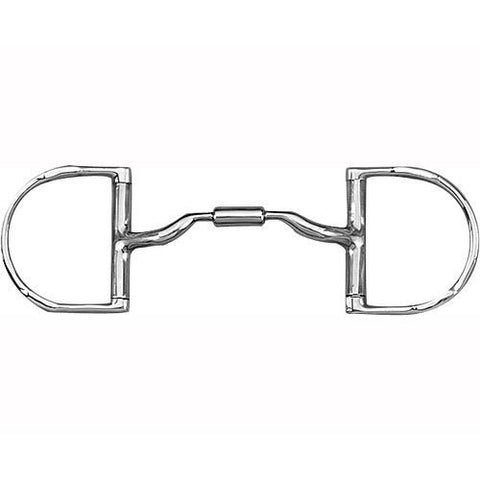 Myler Dee Ring W/ Hooks MB 36- Forward Tilted Port