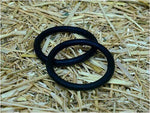Equi-Essentials Rubber Peacock Bands