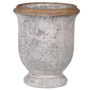 Distressed Urn Style Planter