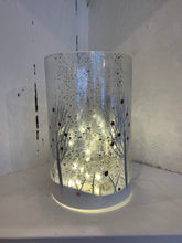 Load image into Gallery viewer, Light-up snowy tree lantern