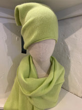 Load image into Gallery viewer, Cashmere Scarf & Slouch Hat Set