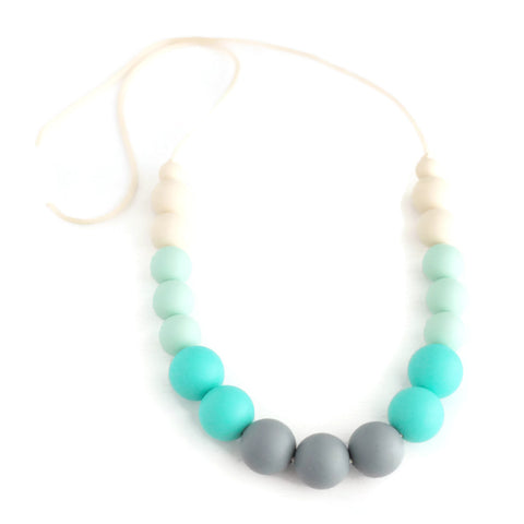 Ava Silicone Teething Necklace - Minted Lane