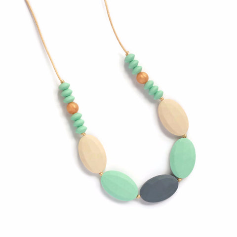 Martine Silicone Teething Necklace - Minted Lane
