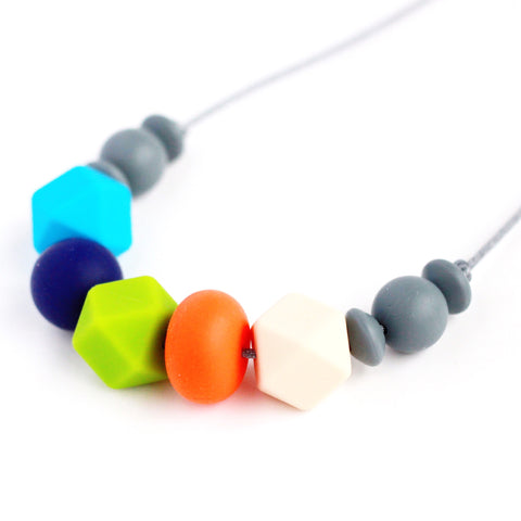 Jamie Silicone Teething Necklace - Minted Lane