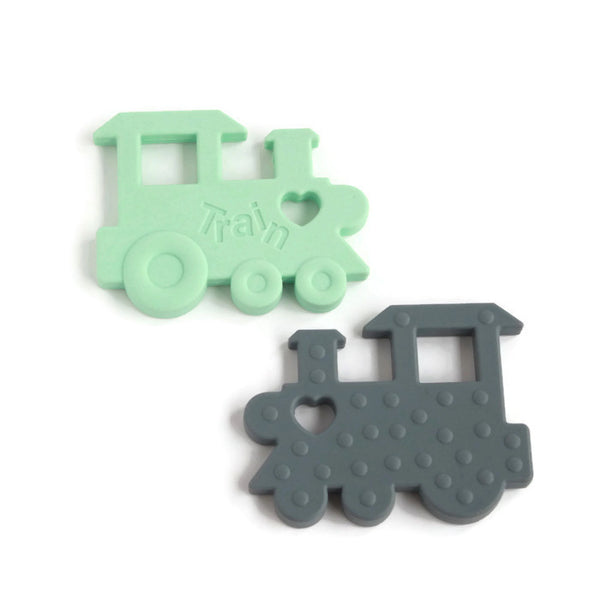 Train Silicone Teether
