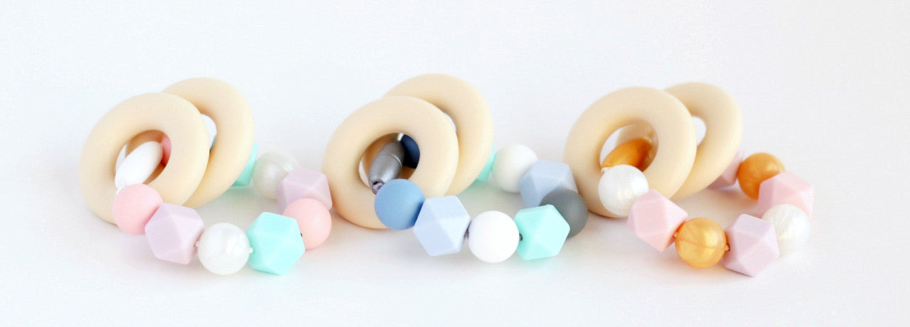 Minted Lane Silicone Teething Rings