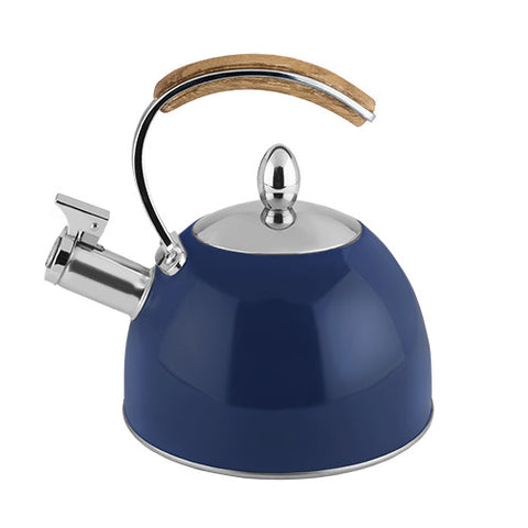 Presley Tea Kettle in Navy