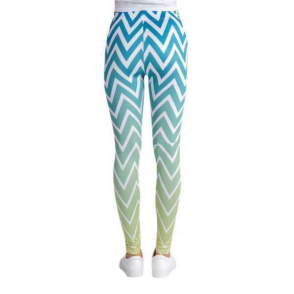 Wave Pattern Leggings