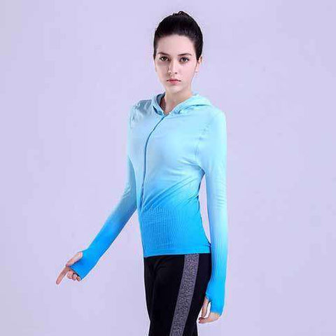 Image of Colorful Gradient Running Jacket