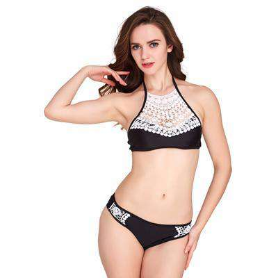 Image of Lace Halter Set