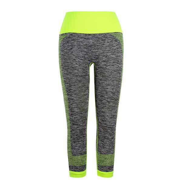 Elastic Waist Color Compression Leggings