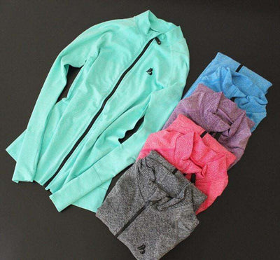 Active Zippered Sports Sweater (5 Colors) - HerFitness - 1
