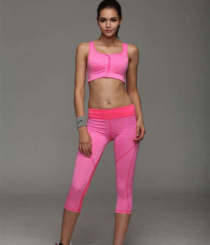 Image of Spandex Compression Running Tights -  - HerFitness.co - 14