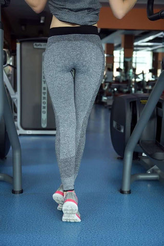 Image of Active Mid Waist Fitness Leggings - leggings - HerFitness.co - 2
