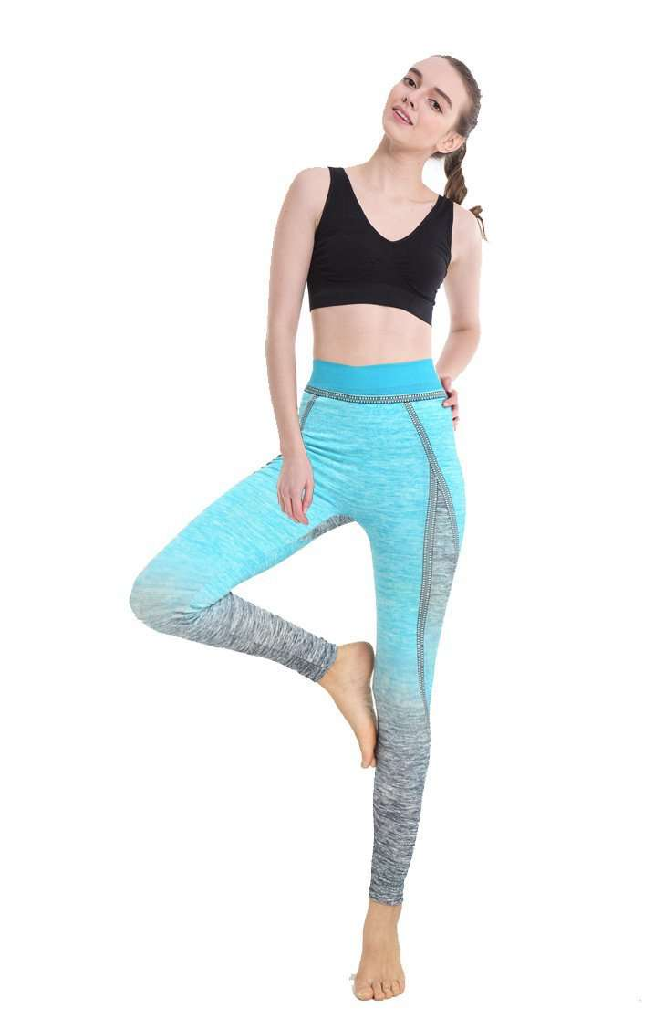 Color Gradient High Waist Leggings