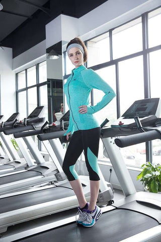 Image of Active Zippered Sports Sweater (5 Colors) - HerFitness - 2
