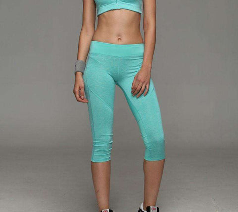 Image of Spandex Compression Running Tights -  - HerFitness.co - 12