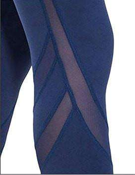 Image of Compression Cool Mesh Leggings - leggings - HerFitness.co - 2