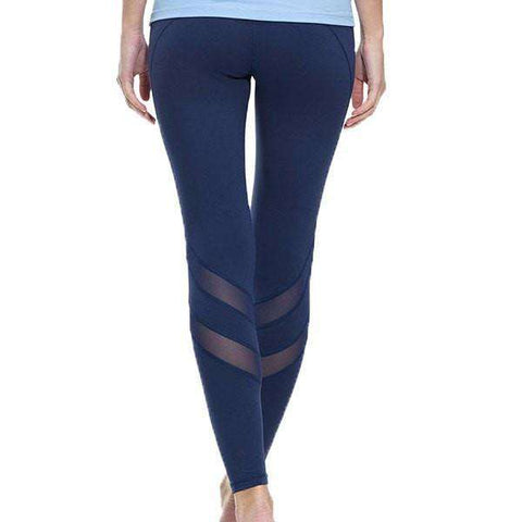 Image of Compression Cool Mesh Leggings - leggings - HerFitness.co - 1