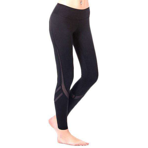 Image of Compression Cool Mesh Leggings - leggings - HerFitness.co - 4