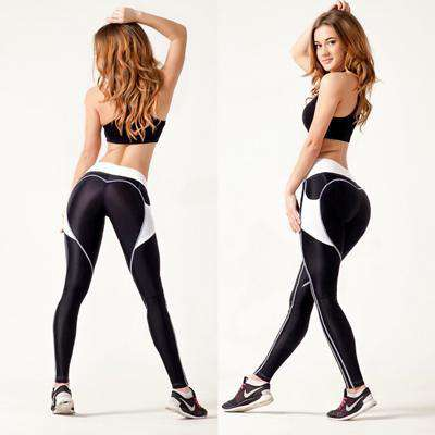 Image of Heart Back Leggings