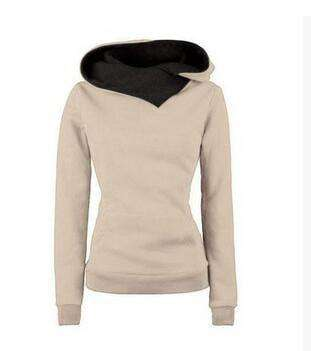 Olivia Long Sleeve Hooded Sweatshirt - jacket - HerFitness.co - 4