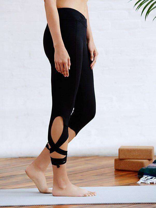 Mid Calf Bandage Leggings - 6 Colors